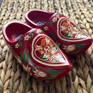 Other - Hand-painted Kids' Dutch Klompen (wooden clogs)